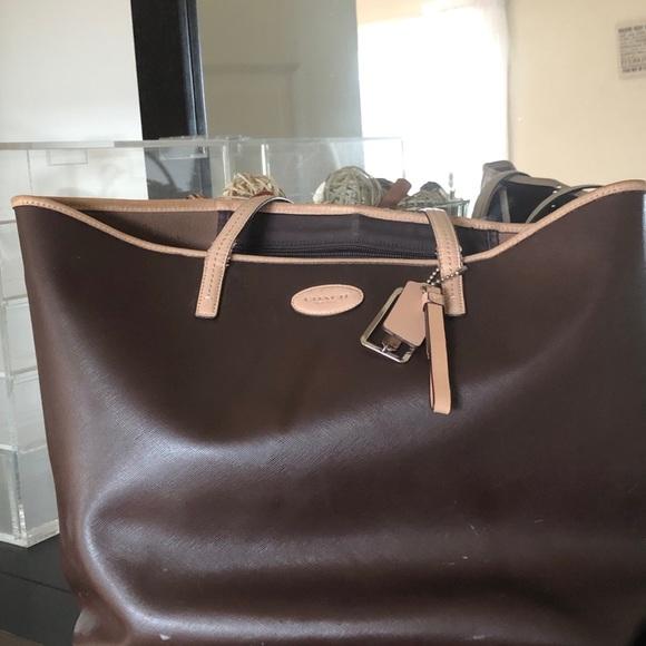 Coach bag tote